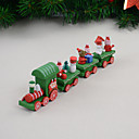 cheap Christmas Decorations-4pcs Christmas Decorations Christmas Figurines, Holiday Decorations 24*8*3