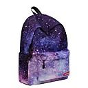 cheap Hair Care-Unisex Bags Polyester Backpack Zipper Geometric Light Purple