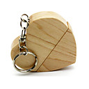 cheap Memory Cards-Ants 16GB usb flash drive usb disk USB 2.0 Wooden Keychain Key Chain / Wooden