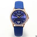 abordables Relojes de Moda-Mujer Reloj de Pulsera Japonés Calendario / Reloj Casual Piel Banda Casual / Moda / Elegante Negro / Blanco / Azul