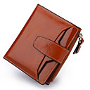 cheap Backpacks-Women's Bags Cowhide Coin Purse Buttons Black / Coffee / Camel