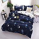 cheap Contemporary Duvet Covers-Duvet Cover Sets Contemporary Poly / Cotton Reactive Print 4 Piece Bedding Sets king