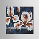 preiswerte Stillleben Gemälde-Hang-Ölgemälde Handgemalte - Abstrakt Modern Segeltuch