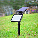 olcso Napelemes LED világítás-1db 4.5 W Lawn Lights Dekoratív Természetes fehér Kültéri világítás 48 LED gyöngyök