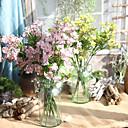 abordables Flores Artificiales-Flores Artificiales 5 Rama Europeo Orquídea Flor de Mesa