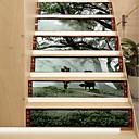 tanie Naklejki ścienne-Naklejki podłogowe - Naklejki ścienne 3D / Naklejki ścienne dla ludzi Krajobraz / Zwierzęta Salon / Pokój dziecięcy