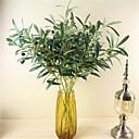 abordables Plantas Artificiales-Flores Artificiales 1 Rama Estilo Pastoral Plantas Flor de Mesa