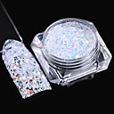 cheap Nail Glitter-1pc Nail Jewelry nail art Manicure Pedicure Classic / Laser Holographic Daily
