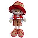 זול בובות-בובה מפוארת / בובת נערה 18inch Cute, לילדים, רך בנות הילד של מתנות