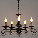 cheap Chandeliers-5-Light Chandelier Ambient Light - Candle Style, 110-120V / 220-240V Bulb Not Included / 5-10㎡ / E12 / E14