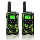 cheap Walkie Talkies-48 462 Walkie Talkie Handheld Low Battery Warning Power Saving Function VOX Encryption CTCSS/CDCSS Auto-Transpond Keylock Backlight LCD