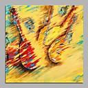 ieftine Picturi Abstracte-Hang-pictate pictură în ulei Pictat manual - Abstract Modern pânză
