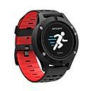 זול שעונים חכמים-Smart צמיד F5 ל iOS / Android כלוריות שנשרפו / בלותוט' מובנה / גע בחיישן / מד צעדים / בקרת APP Tracker דופק / מד צעדים / מזכיר שיחות / מד פעילות / מעקב שינה / תזכורת בישיבה / Alarm Clock / Compass