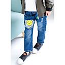 ieftine Pantaloni Băieți-Băieți Pantaloni Mată Desene Animate Bumbac Poliester Primăvară Toamnă Simplu Albastru piscină