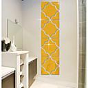 preiswerte Wand-Sticker-Spiegel Formen Wand-Sticker 3D Wand Sticker Spiegel Wandsticker Dekorative Wand Sticker, Vinyl Haus Dekoration Wandtattoo Wand Glas /
