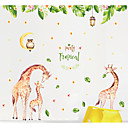 billige Veggklistremerker-Dekorative Mur Klistermærker - Animal Wall Stickers Dyr Soverom / Barnerom