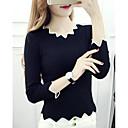 זול עגילים אופנתיים-אחיד - סוודר שרוול ארוך ליציאה בגדי ריקוד נשים
