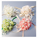 "cheap Favor Holders-Wedding Flowers Wrist Corsages Wedding Special Occasion Silk 0.39""(Approx.1cm)"