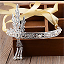 cheap Party Headpieces-The Great Gatsby Flapper Headband 1920s Black / Silver / Golden Chrome Cosplay Accessories Masquerade