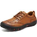 זול נעלי ספורט לגברים-בגדי ריקוד גברים נעליים פורמליות עור נאפה Leather סתיו / חורף נעלי אוקספורד חום / מסיבה וערב