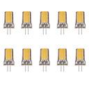 tanie Słuchawki i zestawy słuchawkowe-10 szt. 2 W 80 lm G4 Żarówki LED bi-pin 1 Koraliki LED COB Ciepła biel / Zimna biel 220-240 V