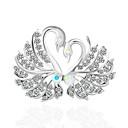 baratos Broches e Pins-Mulheres Broches - Básico Broche Branco / Prateado Para Casamento / Festa
