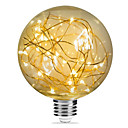 cheap LED Strip Lights-1pc 3W 200lm E26 / E27 LED Filament Bulbs G95 33 LED Beads SMD Starry Decorative Warm White 85-265V