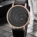 preiswerte Modische Uhren-Damen Armbanduhr Quartz Armbanduhren für den Alltag PU Band Analog Freizeit Modisch Elegant Schwarz / Braun - Schwarz Kaffee