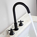 cheap Synthetic Capless Wigs-Bathroom Sink Faucet - Widespread Oil-rubbed Bronze Widespread Two Handles Three Holes