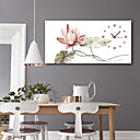 tanie Obrazy: motyw roślinny/botaniczny-Styl nowoczesny Rustykalny Mahoń Kwadrat Domowy,Bateria