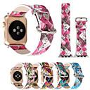 billiga Karriär- och yrkeskostymer-Klockarmband för Apple Watch Series 5/4/3/2/1 / Apple Watch Series 4/3/2/1 Apple Modernt spänne Äkta Läder Handledsrem