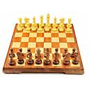 رخيصةأون ألعاب الشطرنج-لعبة الشطرنج العائلة مغناطيس التفاعل بين الوالدين والطفل كبير جداً خشبي صبيان فتيات ألعاب هدية 32 pcs