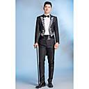 זול בובות-אחיד דש קלאסי רזה Party חליפות-בגדי ריקוד גברים,בסיסי / שרוול ארוך