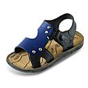 halpa Poikien kengät-Poikien Kengät PU Kesä Comfort Sandaalit varten Ruskea / Sininen