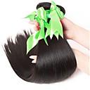 זול תוספות שיער בגוון טבעי-3 חבילות שיער פרואני ישר שיער אנושי טווה שיער אדם שוזרת שיער אנושי תוספות שיער אדם בגדי ריקוד נשים