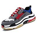 זול נעלי ספורט לגברים-בגדי ריקוד גברים טול אביב / סתיו נוחות נעלי אתלטיקה הליכה שחור / אפור