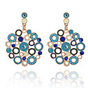 cheap Earrings-Women's Drop Earrings - Resin, Imitation Diamond Fashion Blue For Evening Party Going out