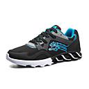 זול USB-בגדי ריקוד גברים PU אביב / סתיו נוחות נעלי אתלטיקה שחור / כחול כהה / אדום