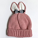cheap Kids' Hats & Caps-Girls' Hats & Caps, Spring Polyester Hair Tie - Red Blushing Pink Beige Gray Yellow