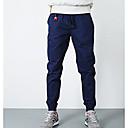 זול שרשרת אופנתית-בגדי ריקוד גברים כותנה משוחרר מכנסיים אחיד