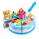 olcso Játékkonyhák és ételek-Játék konyha készletek Szerepjátékok Élelem & hűsítő Torta Torta & sütemény szeletelők Stressz és szorongás oldására Tökéletes Szülő-gyermek interakció Hercegnő Gyermek Uniszex Játékok Ajándék