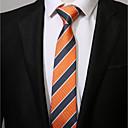 זול סיכות-עניבת צווארון - פסים יום יומי בגדי ריקוד גברים