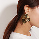זול עגילים אופנתיים-בגדי ריקוד נשים עגילים צמודים עגילי טיפה - נשים תכשיטים זהב / כסף עבור Party בר
