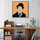 رخيصةأون ملصقات الحائط-الناس توضيح جدار الفن,PVC مادة مع الإطار For تصميم ديكور المنزل الفن الإطار غرفة الجلوس داخلي
