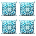 cheap Decorative Objects-4 pcs Textile Cotton/Linen Pillow Cover, Striped Geometric Abstract
