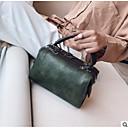 preiswerte Handbeutel-Damen Taschen PU Tragetasche Knöpfe / Reißverschluss Rote / Rosa / Grau