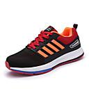 זול נעלי ספורט לגברים-בגדי ריקוד גברים PU אביב / סתיו נוחות נעלי אתלטיקה אפור / אדום / כחול / ריצה