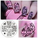 billiga Nagel stickers-1 pcs Konstgjorda nageltips Mall nagel konst manikyr Pedikyr Mode Dagligen