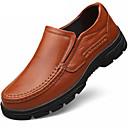 זול נעלי בד ומוקסינים לגברים-בגדי ריקוד גברים נעליים פורמליות עור נאפה Leather אביב / סתיו נוחות נעלי אוקספורד שחור / חום / מסיבה וערב