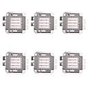 abordables Bloques de Construcción-6pcs 1400 lm Accesorio de la bombilla Chip LED Latón 30 W